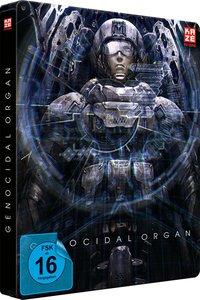 Genocidal Organ - Project Itoh Trilogie Teil 3 - Steelbook [DVD