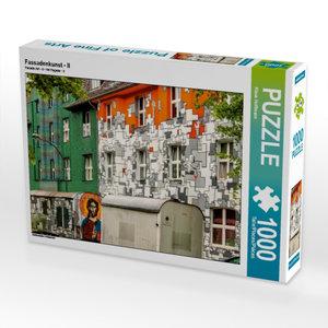 Fassadenkunst - II 1000 Teile Puzzle quer