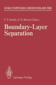 Boundary-Layer Separation