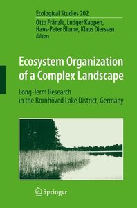 Ecosystem Organization of a Complex Landscape