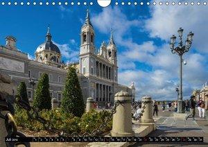 Metropole Madrid (Wandkalender 2019 DIN A4 quer)
