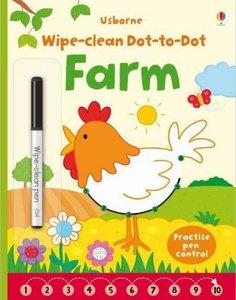 Wipe Clean Dot-to-Dot Farm