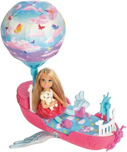 Mattel Barbie Dreamtopia Chelseas Traumboot