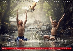 Magisches Asien. Menschen und Natur (Wandkalender 2019 DIN A4 qu