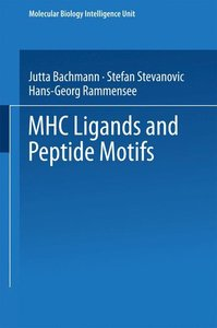 MHC Ligands and Peptide Motifs