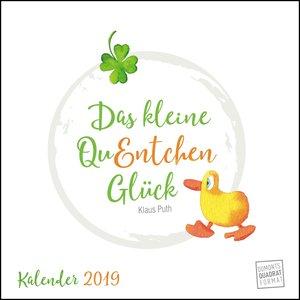 Das kleine QuEntchen Glück 2019 - Wandkalender - Quadratformat 2