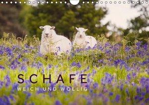 Schafe - Weich und wollig (Wandkalender 2018 DIN A4 quer)