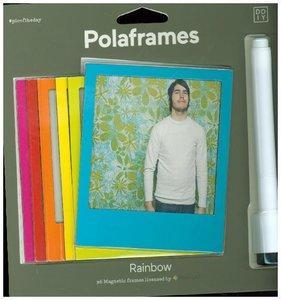Magnetische Bilderrahmen, 6er Pack - Polaframes Color