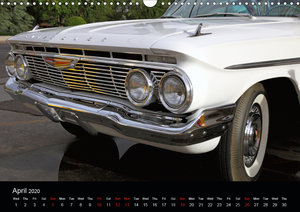 Classic Cars (UK-Version) (Wall Calendar 2020 DIN A3 Landscape)