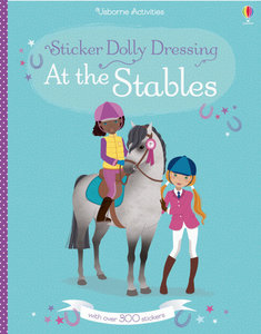 Sticker Dolly Dressing: At the Stables