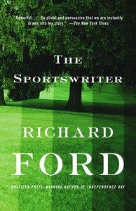 Sportswriter. Der Sportreporter, englische Ausgabe