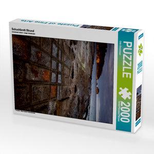 CALVENDO Puzzle Schachbrett Strand 2000 Teile Lege-Größe 67 x 90