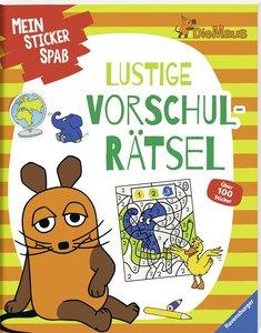 Sticker-Rätsel-Spaß mit der Maus Die Maus: Rätselabenteuer mit d