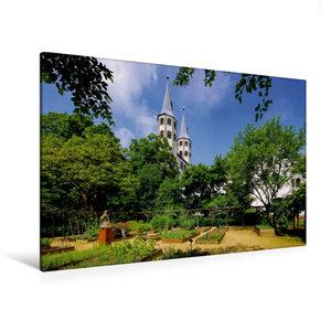 Premium Textil-Leinwand 120 cm x 80 cm quer Neuwerkkirche