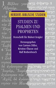 Studien zu Psalmen und Propheten