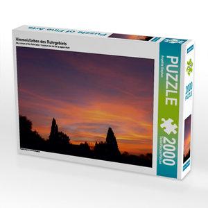 Himmelsfarben des Ruhrgebiets 2000 Teile Puzzle quer