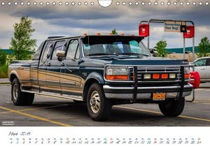 US Cars & Trucks in Alaska (Wandkalender 2019 DIN A4 quer)