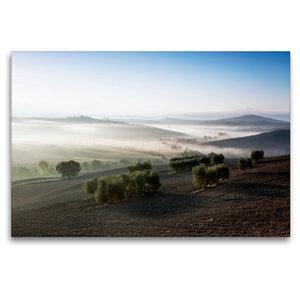 Premium Textil-Leinwand 120 cm x 80 cm quer Blick ins Val d\'Orc
