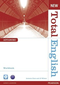 New Total English Advanced Workbook without Key and Audio CD Pac