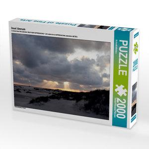 Insel Amrum 2000 Teile Puzzle quer