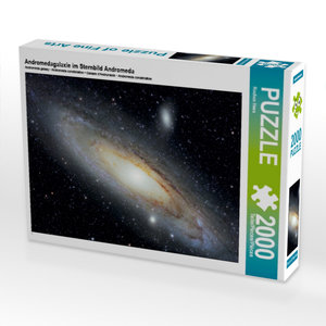 Andromedagalaxie im Sternbild Andromeda 2000 Teile Puzzle quer
