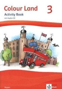 Colour Land ab Klasse 3. Activity Book mit Audio-CD. Ausgabe für