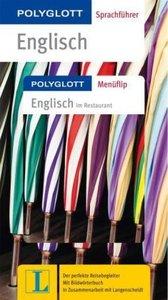 Polyglott Sprachführer Englisch - Buch mit Menüflip
