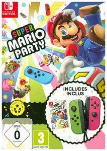 Super Mario Party, 1 Nintendo Switch-Spiel + Joy-Con Set, Party