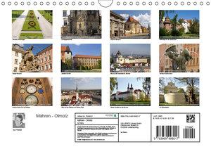 Mähren - Olmütz (Wandkalender 2019 DIN A4 quer)