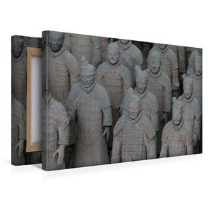Premium Textil-Leinwand 45 cm x 30 cm quer Die Terrakotta Armee