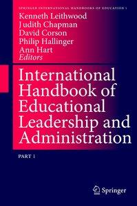 International Handbook of Educational Leadership and Administrat