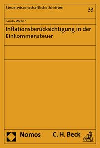 Inflationsberücksichtigung in der Einkommensteuer