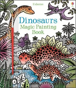 Dinosaurs Magic Painting Book