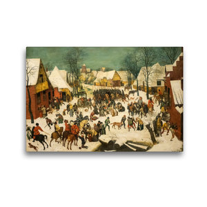 Premium Textil-Leinwand 45 cm x 30 cm quer Bethlehemischer Kinde