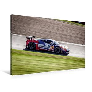 Premium Textil-Leinwand 90 cm x 60 cm quer SMP RACING - Ferrari
