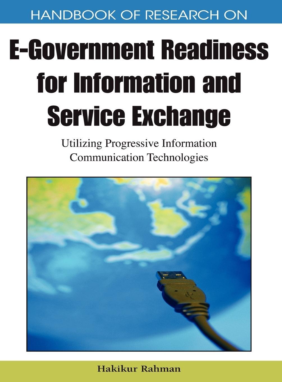 Handbook of Research on E-Government Readiness for Information a - zum Schließen ins Bild klicken