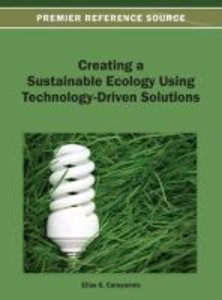 Creating a Sustainable Ecology Using Technology-Driven Solutions