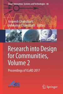 Research into Design for Communities, Volume 2