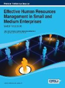 Effective Human Resources Management in Small and Medium Enterpr
