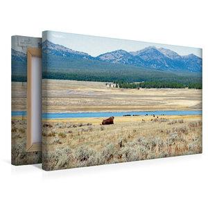 Premium Textil-Leinwand 45 cm x 30 cm quer Wandbild Hayden Valle