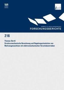 Strukturmechanische Berechnung und Regelungssimulation von Werkz