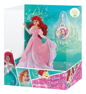 Bullyland 13418 - Disney Princess, Arielle mit Schmuckanhänger,