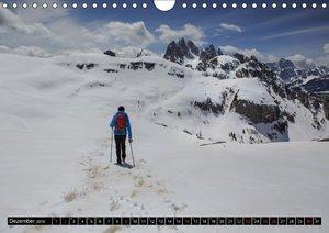 Dolomiten - Rundreise um Drei Zinnen (Wandkalender 2018 DIN A4 q