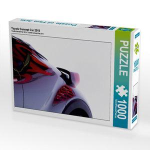 Toyota Concept Car 2015 1000 Teile Puzzle quer