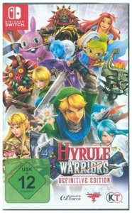 Hyrule Warriors, 1 Nintendo Switch-Spiel (Definitive Edition)