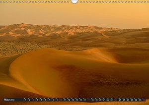 Rub al Khali - die grösste Sandwüste der Erde (Wandkalender 2019