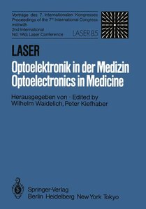 Laser/Optoelektronik in der Medizin / Laser/Optoelectronics in M