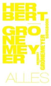 Herbert Grönemeyer Songbook-Alles