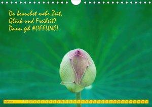 #OFFLINE (Wandkalender 2020 DIN A4 quer)