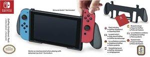 GoPlay GripStand Pack für Nintendo Switch, Halterung mit Reinigu